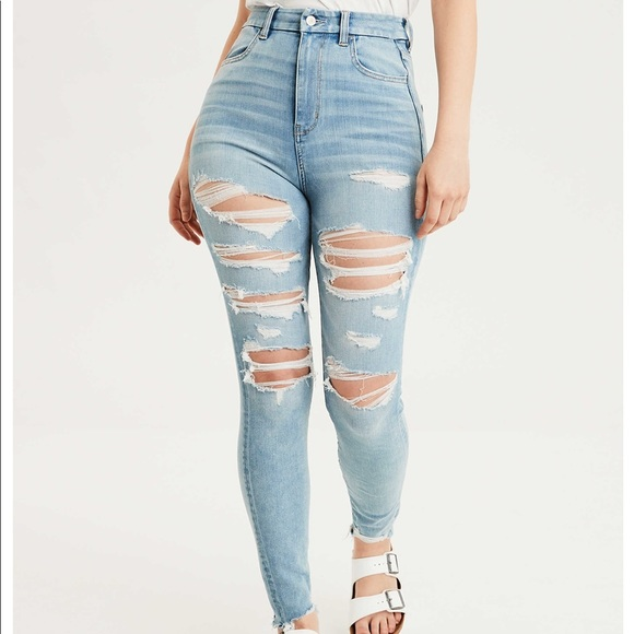 American Eagle Outfitters Denim - AE Curvy Highest Rise Jegging size 16 (short)